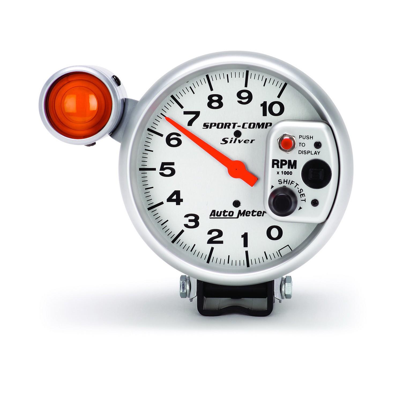 autometer sport comp 5 u2033 tachometer 0 10 000 rpm ultra lite rh  summumperformance ca